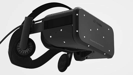 Oculus Rift Crescent Bay prototype. Photo credit: Oculus VR.