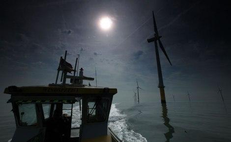 Burbo Bank WindFarm England. Image Rights: The Guardian