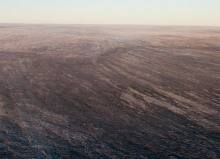 The dark surface of the Greenland Ice Sheet. Image rights: Jason Box.