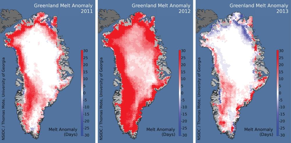 NSID greenland melt 2011-13