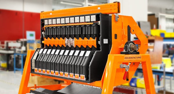 Tesla battery manufacturing. Image rights: Tesla Motors.