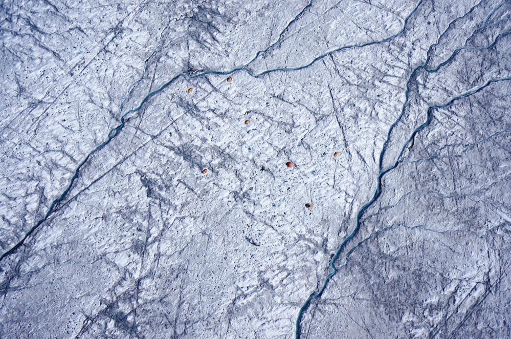 UAV image Greenland