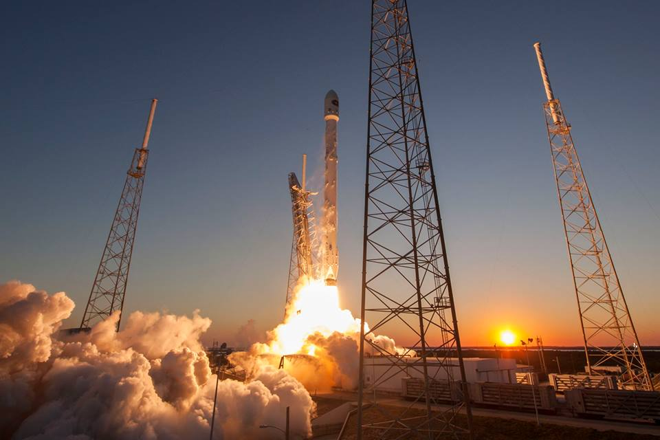 DSCOVR launch