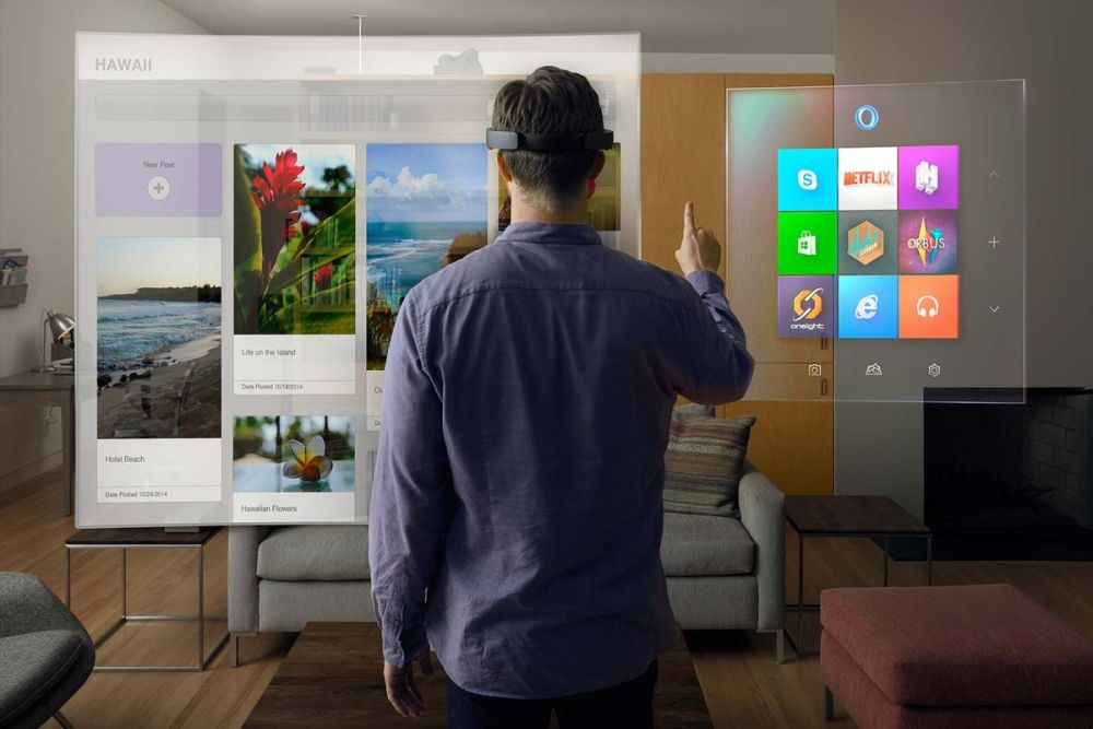 Project HoloLens desktop
