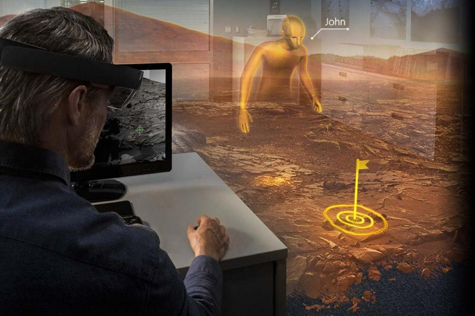 Project HoloLens Mars