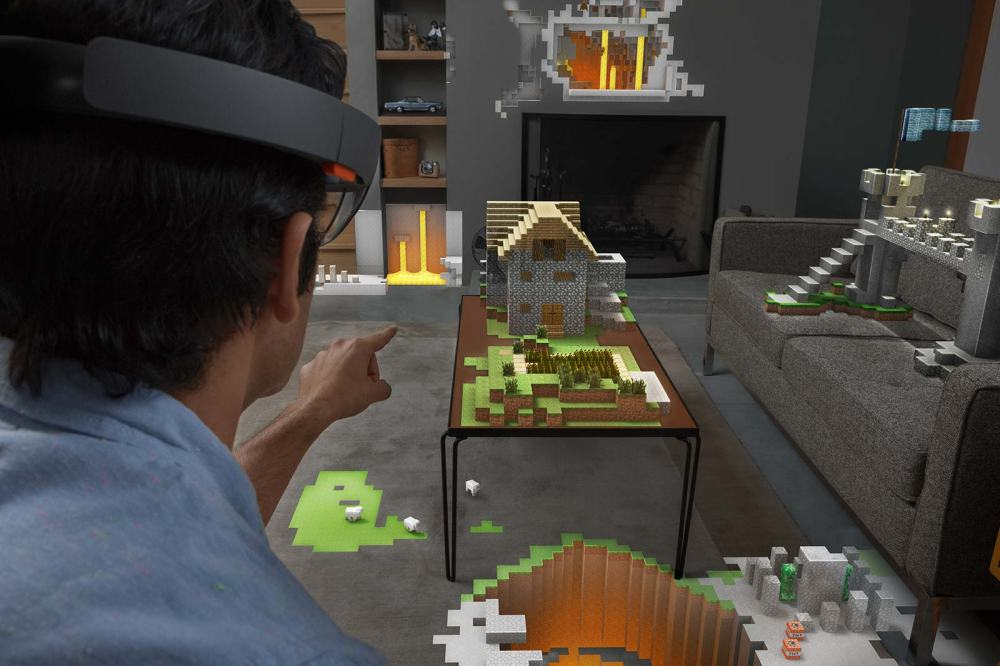 Project HoloLens Minecraft