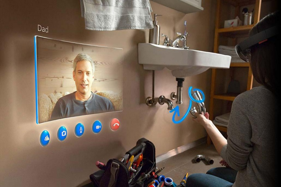 Project HoloLens Skyoe