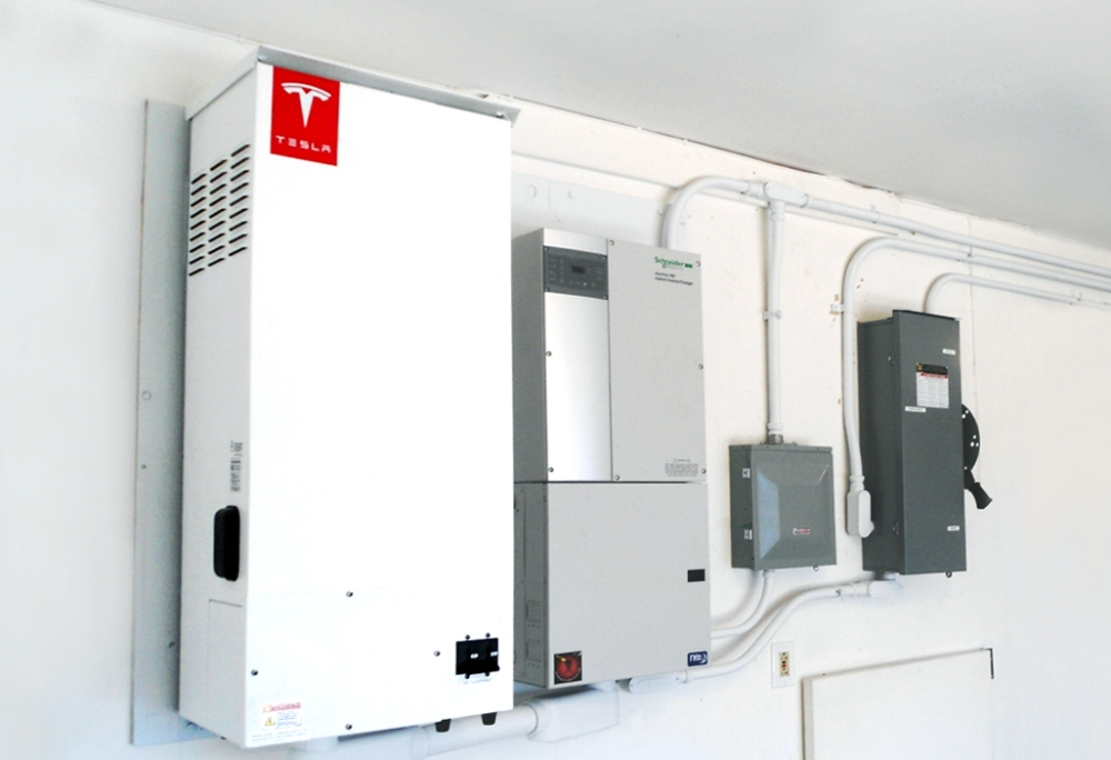 While the commercial Tesla/SolarCity residential battery system hasn't been unveiled yet, both have been installing pilot systems.