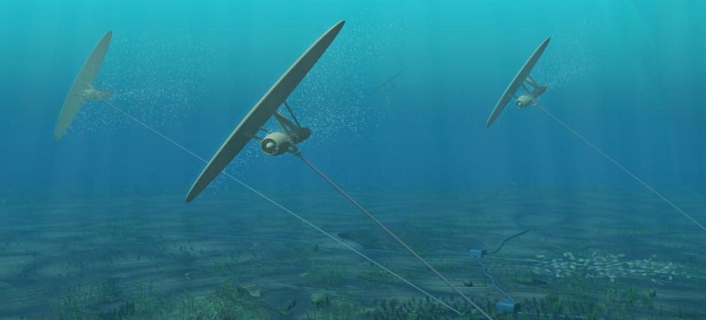 Minesto undersea