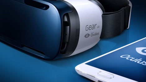 Oculus Gear VR. Image rights: Oculus.