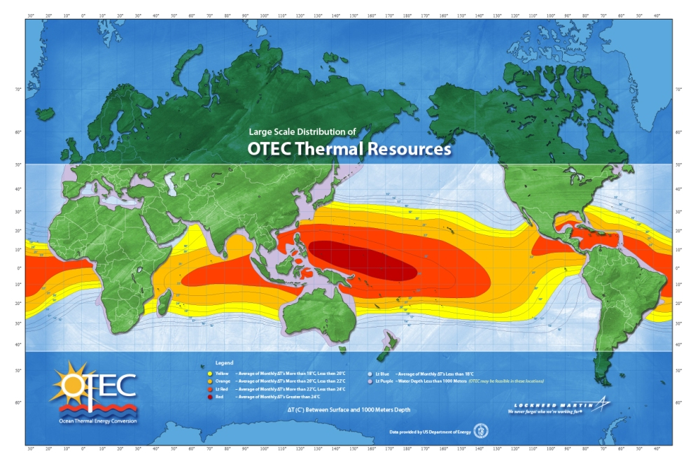 OTEC resources. Image rights: Lockheed Martin.