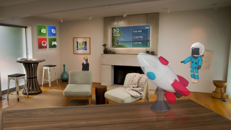 HoloLens Living Room
