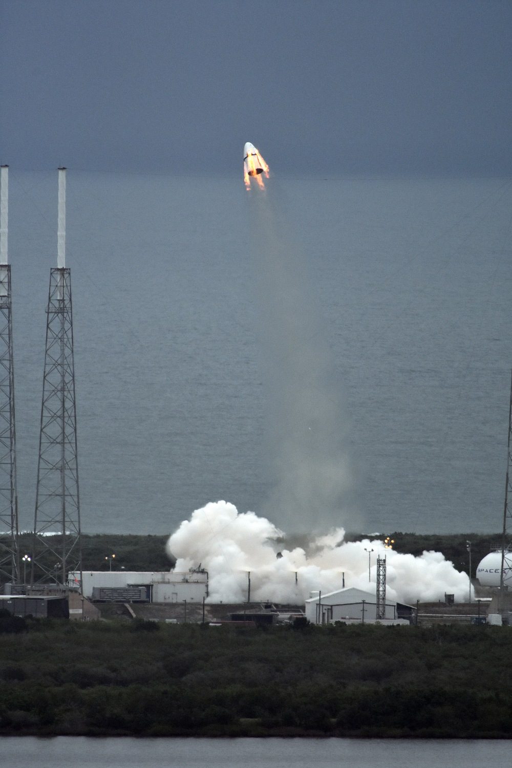 SpaceX   Crew Dragon launch hd2