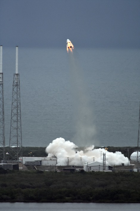 SpaceX | Crew Dragon launch hd2