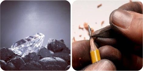 diamond graphite