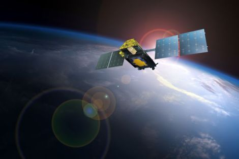Iridium Next Satellite concept