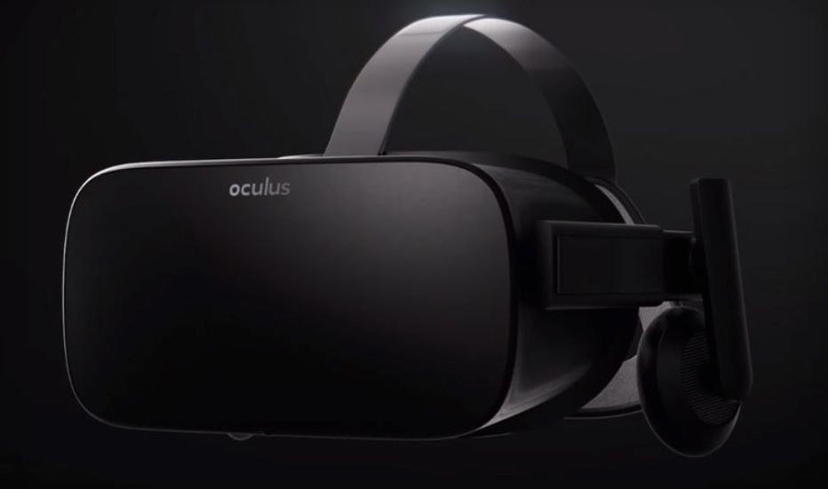 Final design - Oculus Rift.