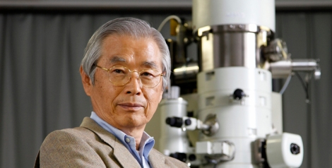 Sumio Iijima is credited with discovery of carbon nanotubes in 1991.