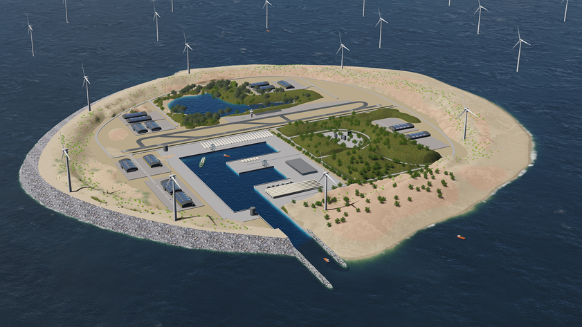 1 - TenneT power link island